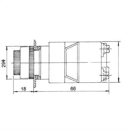 22mm Panel Indicating Lamp ATPL-22