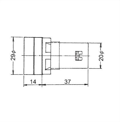 22mm Panel Indicating Lamp L22