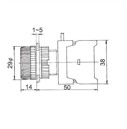 Anzeigeleuchte 22 mm PLN-22B