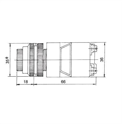 面板指示燈30毫米 ATPL-30