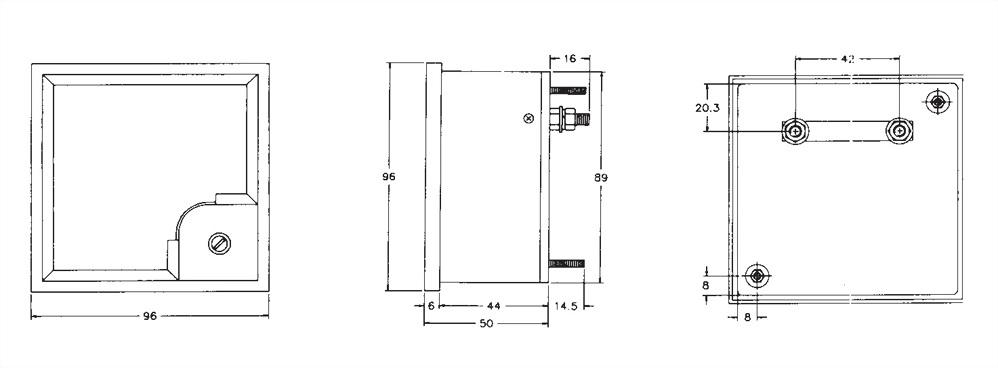 Panel Meter A-96