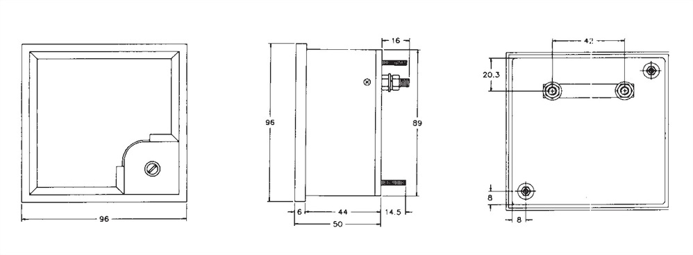 Panel Meter PF-96