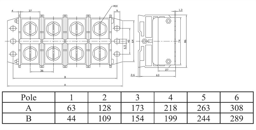 組合式端子台 AT300