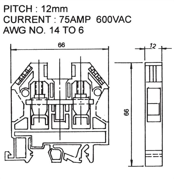 歐規端子台 ATB-16