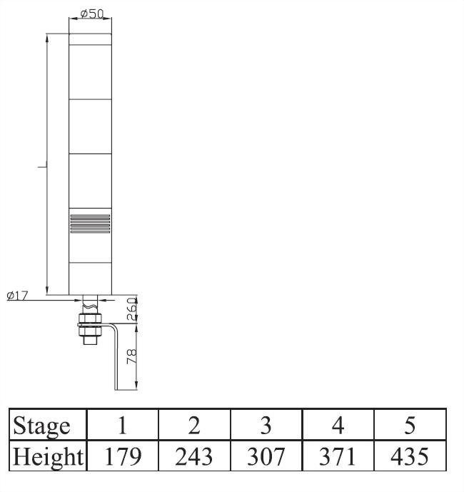 塔燈ATL系列 ATLB5