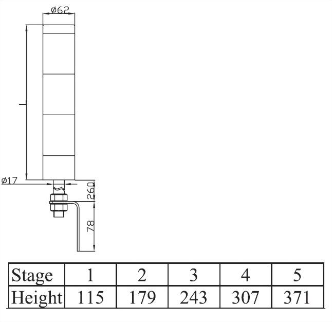 塔燈ATL系列 ATLF6
