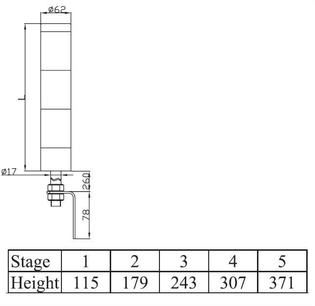 塔燈ATL系列 ATLS6
