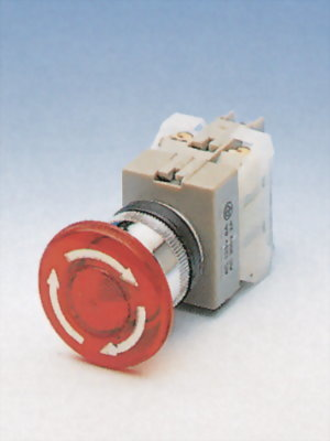 Illuminated Emergency Stop Switches NILEPB22-1OC