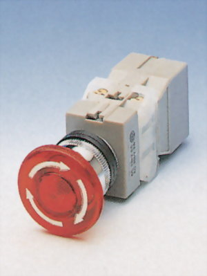 Illuminated Emergency Stop Switches TILEPB22-1OC