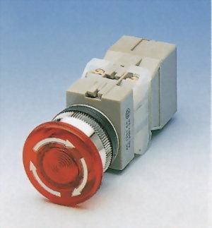 Illuminated Emergency Stop Switches TILEPB30-1OC