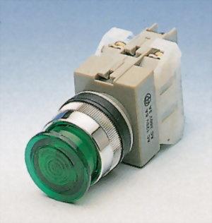 Illuminated Pushbutton Switches ANLPB25-1OC