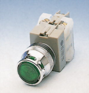 發光按鈕開關 FLPB25-1OC