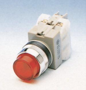 發光按鈕開關 NLPB25-1OC