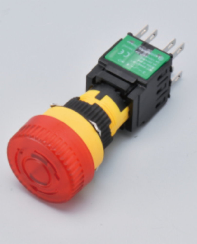 Illuminated Emergency Stop Switches A16LM