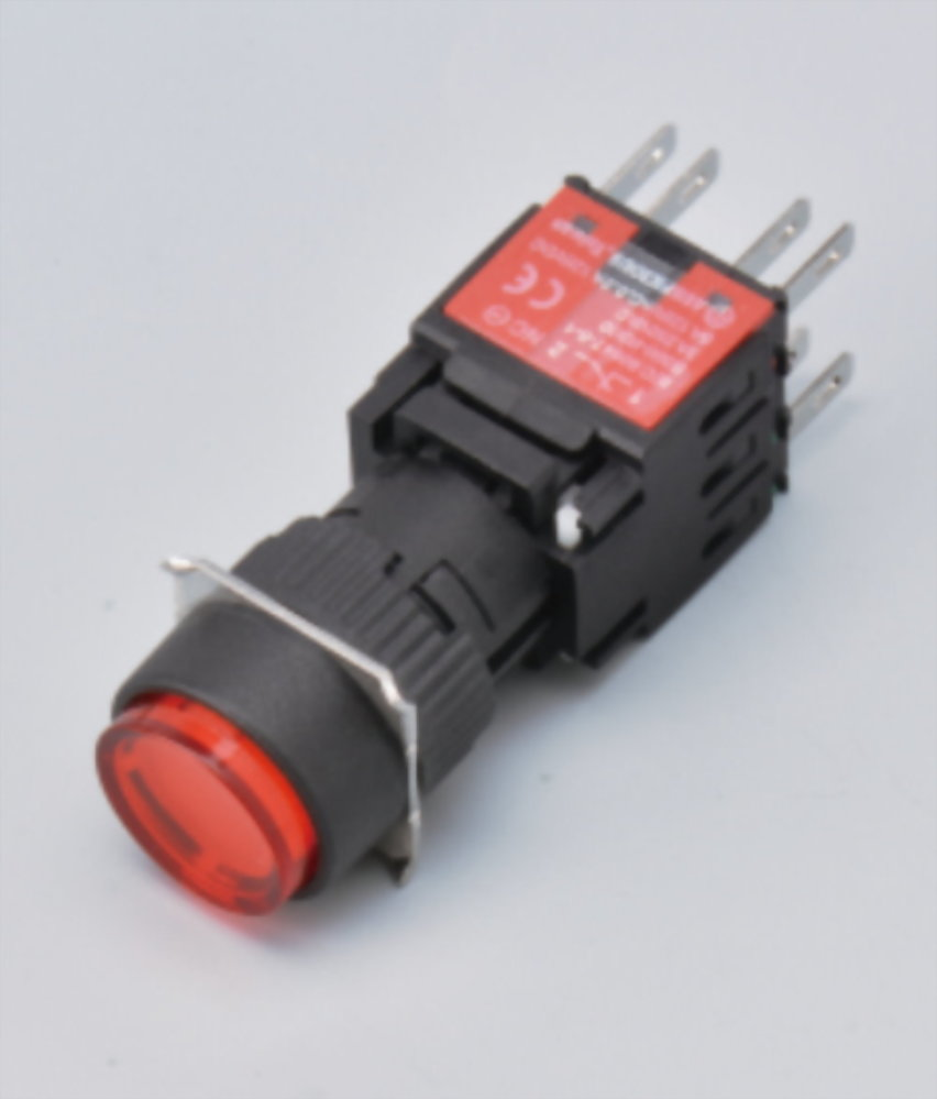 Illuminated Pushbutton Switches A16RA