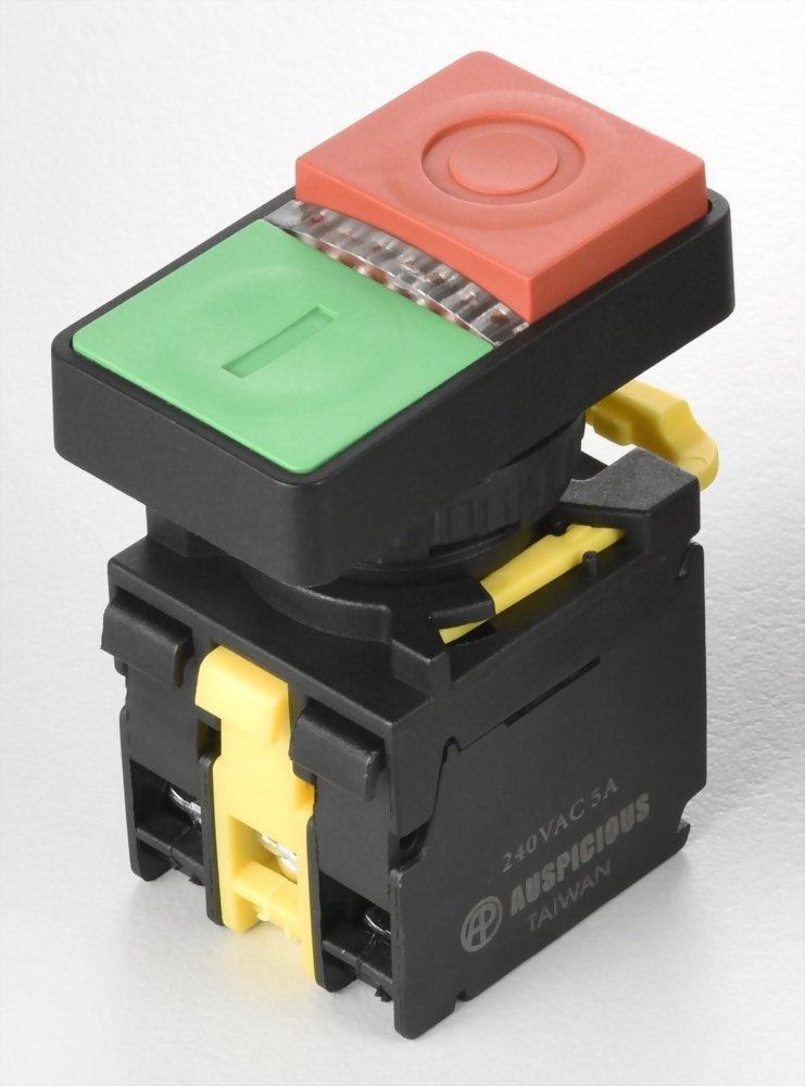 Illuminated Double Push Button Switches