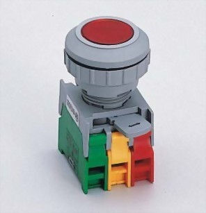 Illuminated Pushbutton Switches LXB30-1OC