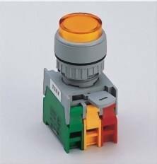 發光按鈕開關 LXL22-1OC