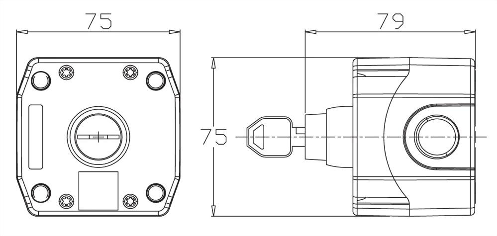 控制盒 B1-KS-1OC