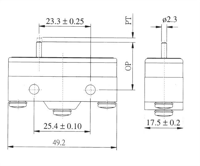 AM系列微動開關 AM-1300 2
