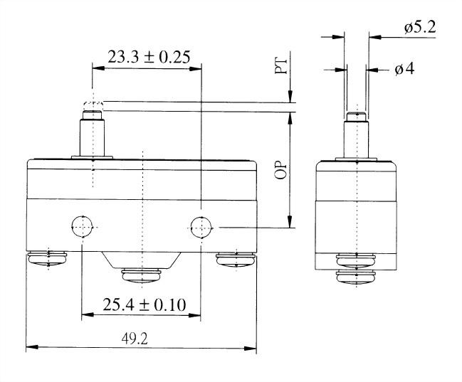 AM系列微動開關 AM-1305 2