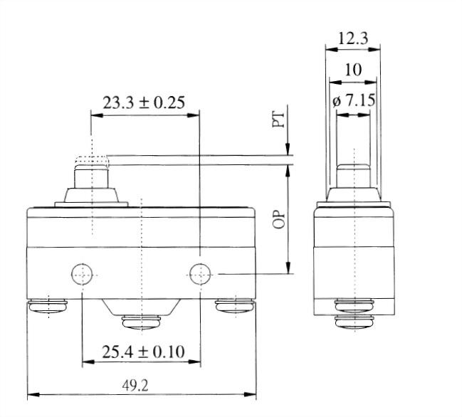 AM系列微動開關 AM-1306 2
