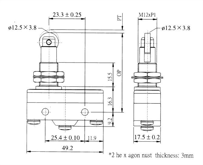 AM系列微動開關 AM-1309 2