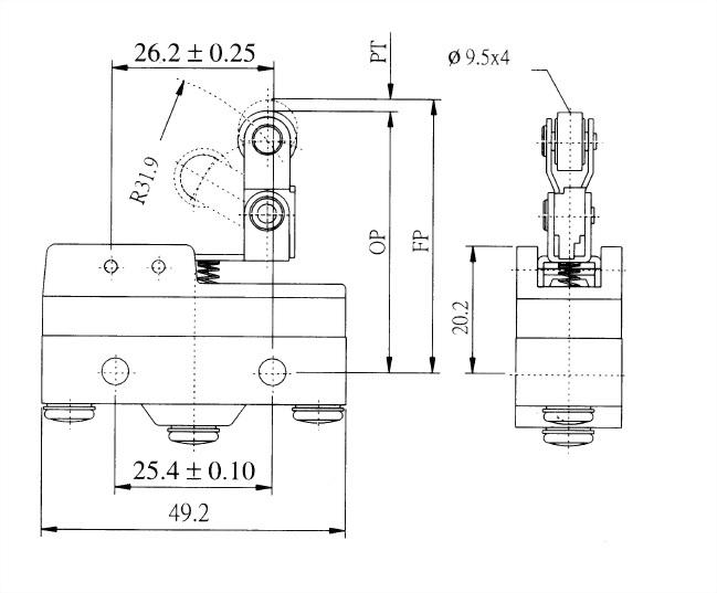 AM系列微動開關 AM-1513 2