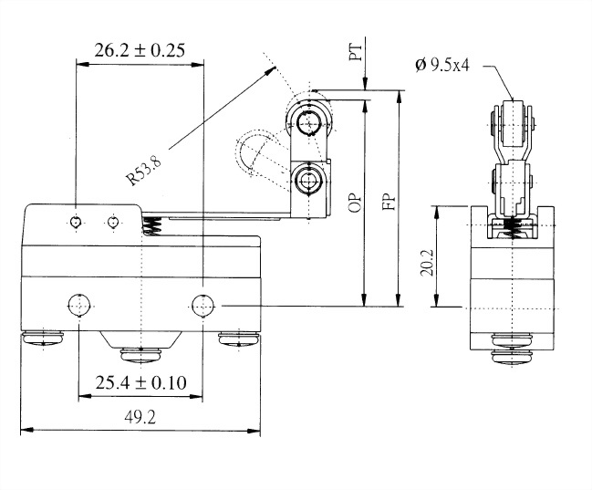 AM系列微動開關 AM-1514 2