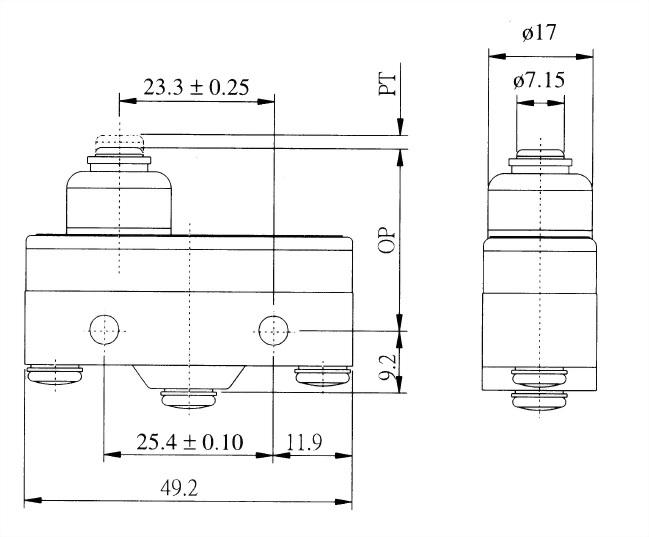 AM系列微動開關 AM-1515 2