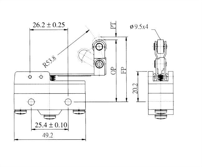 AM系列微動開關 AM-1544 2