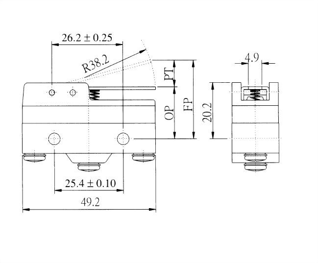 AM系列微動開關 AM-1702 2