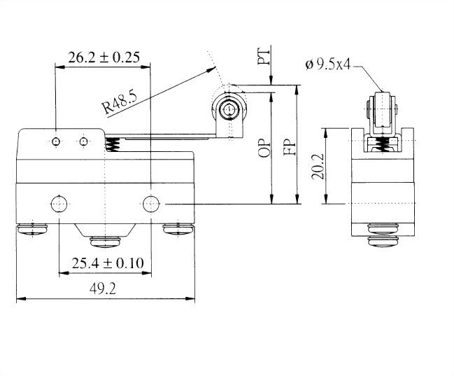 AM系列微動開關 AM-1703 2