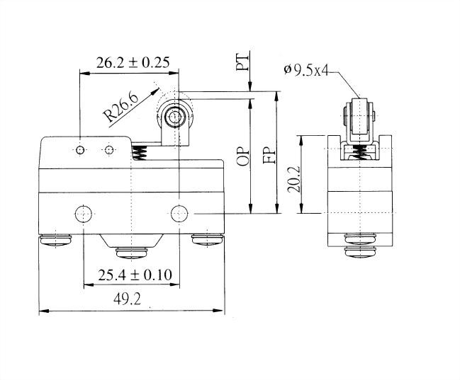 AM系列微動開關 AM-1704 2
