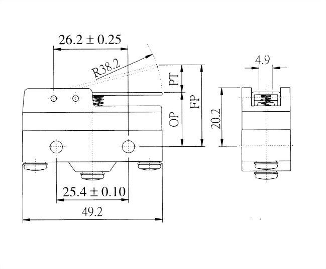 AM系列微動開關 AM-1712 2
