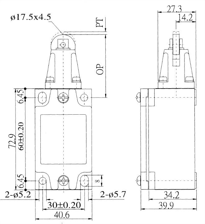 AZ-5系列限位開關 AZ-5102 2