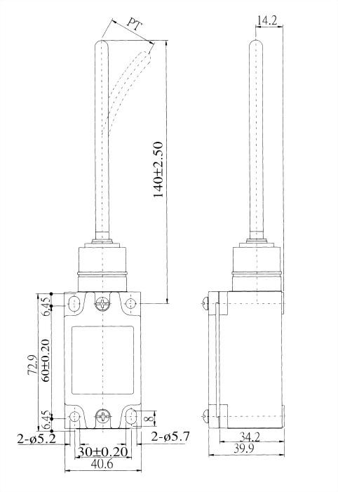 AZ-5系列限位開關 AZ-5106 2