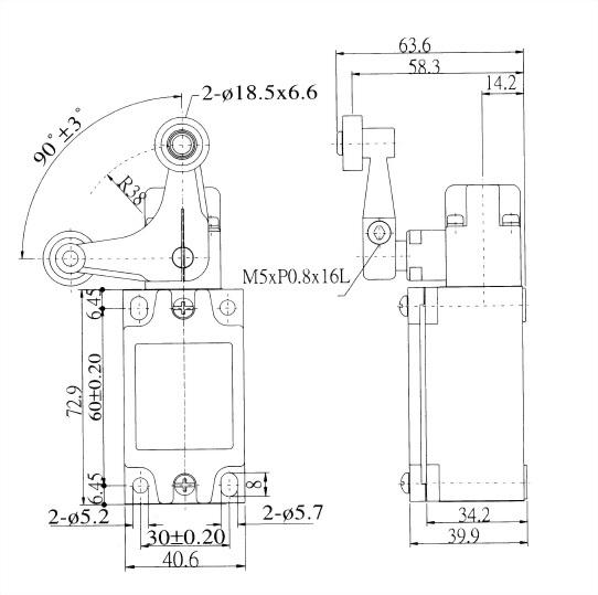 AZ-5 Series Limit Switches AZ-5142 2