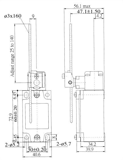 AZ-5系列限位開關 AZ-5207 2