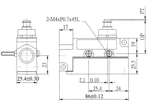 AZ-6系列封閉式限位開關 AZ-6101 2