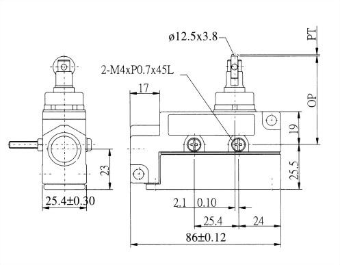 AZ-6系列封閉式限位開關 AZ-6102R 2