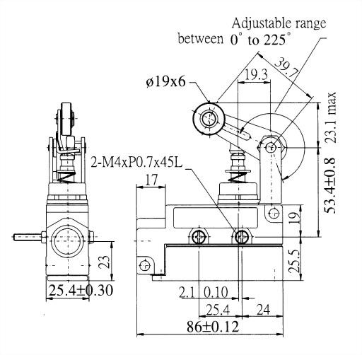 AZ-6 Series Enclosed Limit Switches AZ-6104 2