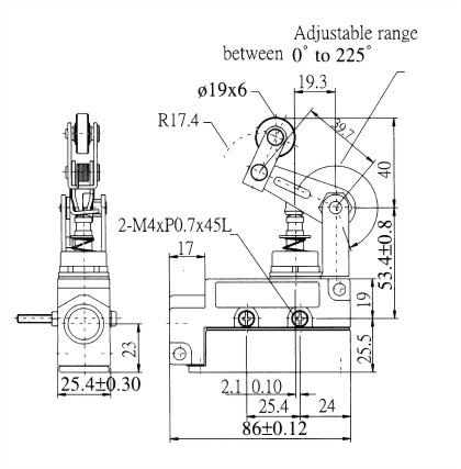 AZ-6系列封閉式限位開關 AZ-6107 2
