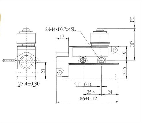 AZ-6系列封閉式限位開關 AZ-6111 2