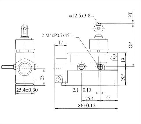 AZ-6系列封閉式限位開關 AZ-6112 2