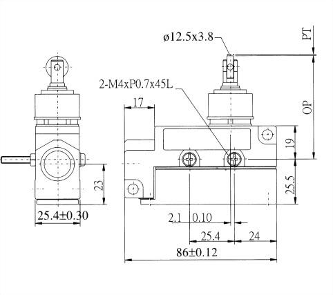 AZ-6系列封閉式限位開關 AZ-6112R 2