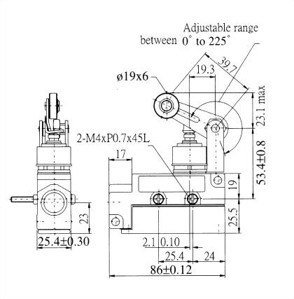 AZ-6系列封閉式限位開關 AZ-6114 2