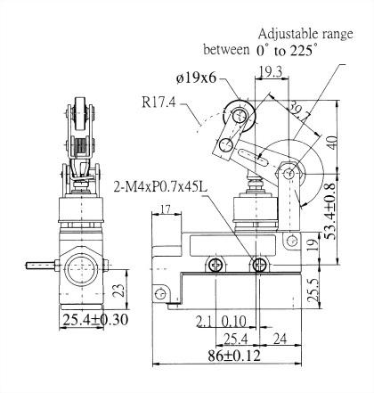 AZ-6 Series Enclosed Limit Switches AZ-6117 2