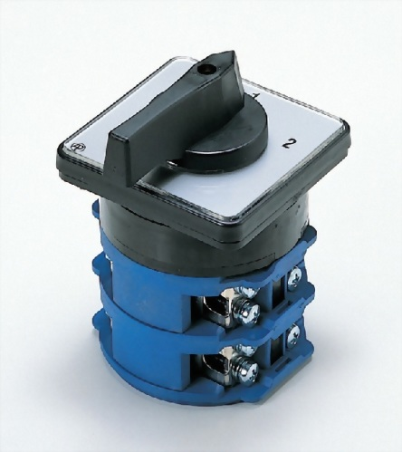 Latching 4 Terminal On-Off-On 3 Position Rotary Changeover Cam Switch ^F ^S