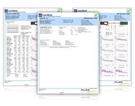Linkware 纜線分析儀連線軟體